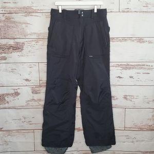 Burton Tactic Snowboard Pants Black M Side Zip